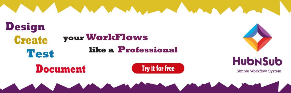 design, create, test, document your workflow